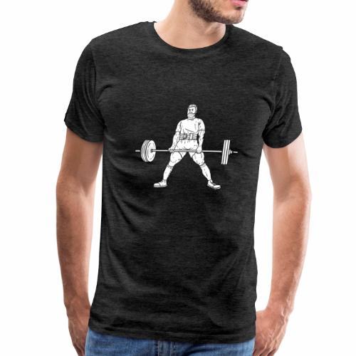 powerlifting Bodybuilding Powerlifting Lifting Gym - Men's Premium T-Shirt