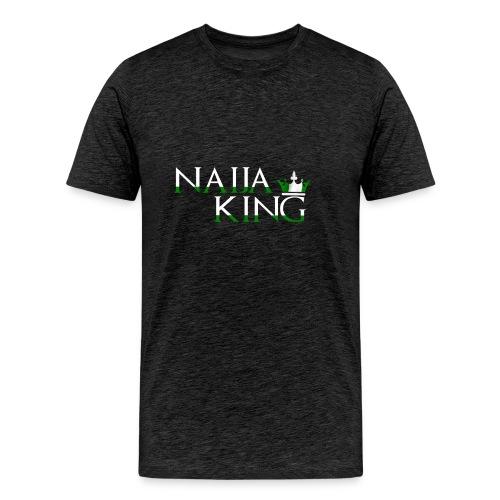 Naija King Tee Shirt - Men's Premium T-Shirt