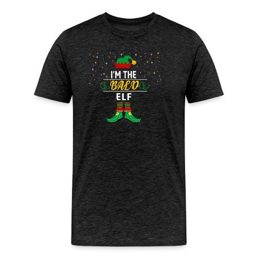I am The bald Elf Christmas gift - Men's Premium T-Shirt