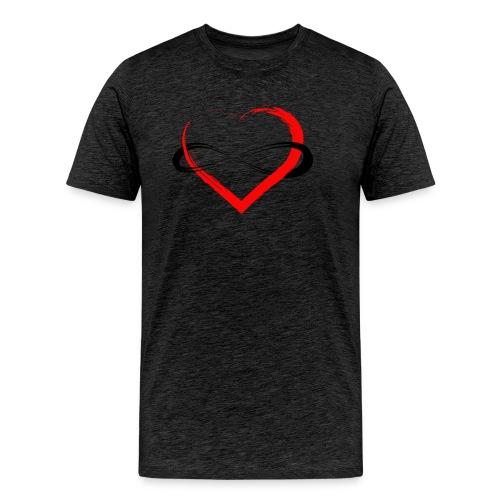 Infinity Heart - Men's Premium T-Shirt