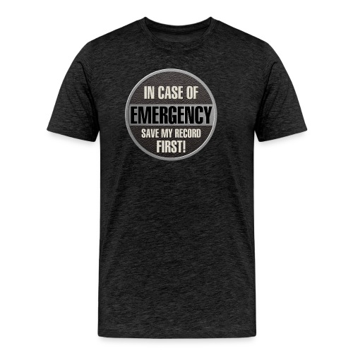 case record - Men's Premium T-Shirt