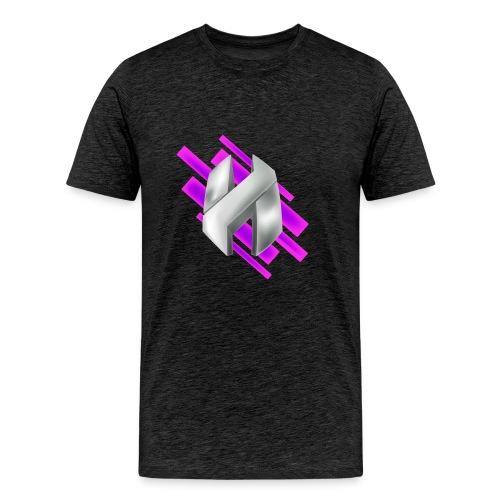 Abstract Purple - Men's Premium T-Shirt