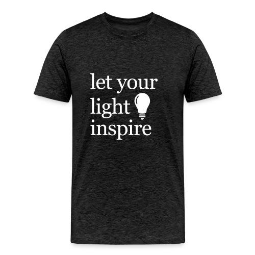 Let Your Light Inspire Mug - Men's Premium T-Shirt