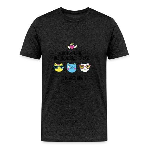 Allergy to cats - Men's Premium T-Shirt