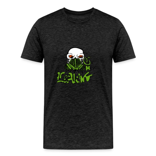 Leaking Gas Mask - Men's Premium T-Shirt