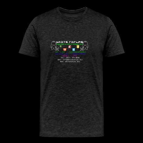 White Ninjas - Men's Premium T-Shirt