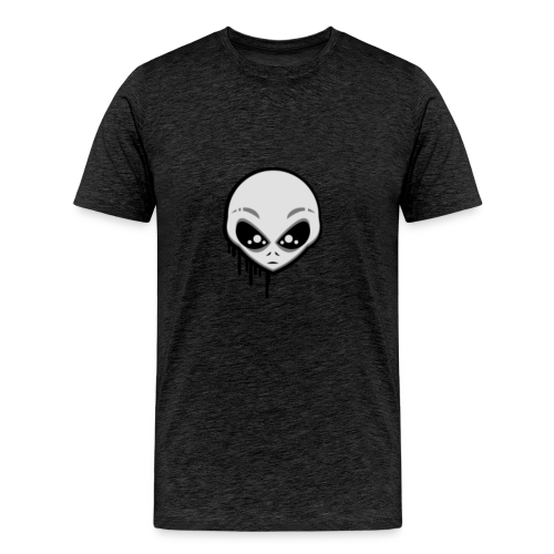 Martians From Mars Logo - Men's Premium T-Shirt