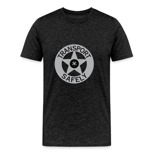 Transport Safely Logo - Men's Premium T-Shirt