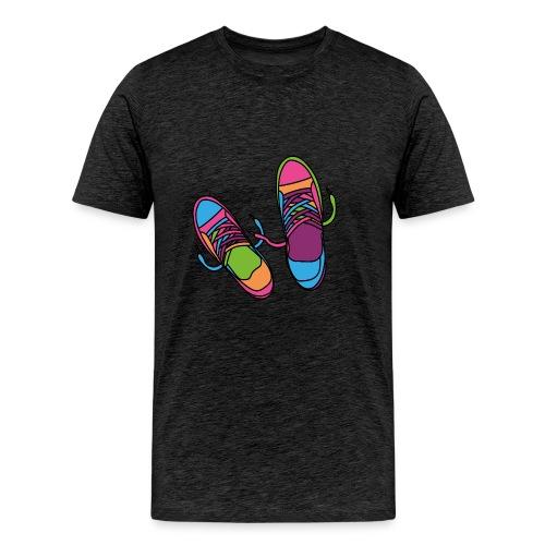 Hipster Shoes - Men's Premium T-Shirt