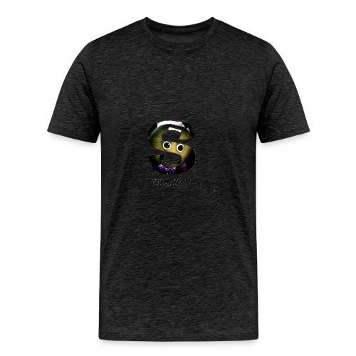 CallMeStabbzHD Logo - Men's Premium T-Shirt