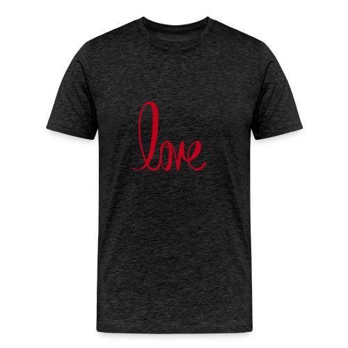 love my husband - Men's Premium T-Shirt