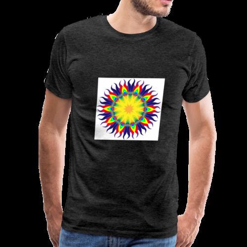 Mandala Sun - Men's Premium T-Shirt