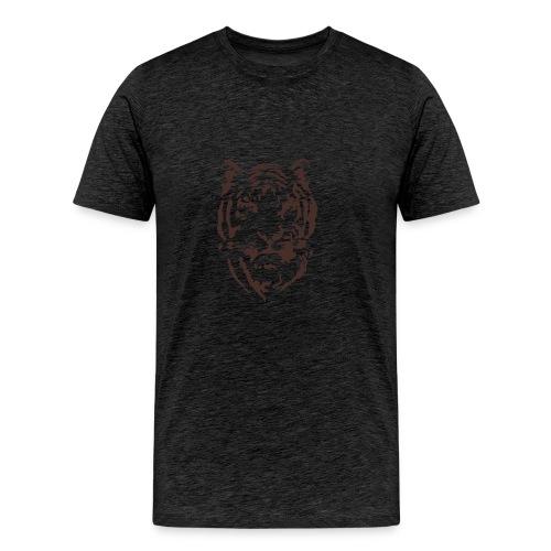 Tiger Printed T-shirt - Men's Premium T-Shirt