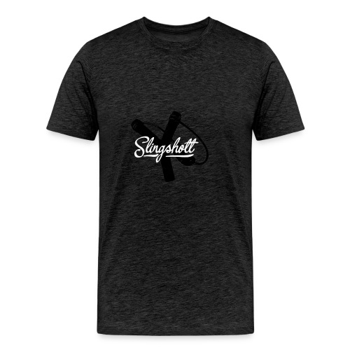 Exclusive Slingshott Logo - Men's Premium T-Shirt
