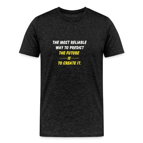create the future - Men's Premium T-Shirt