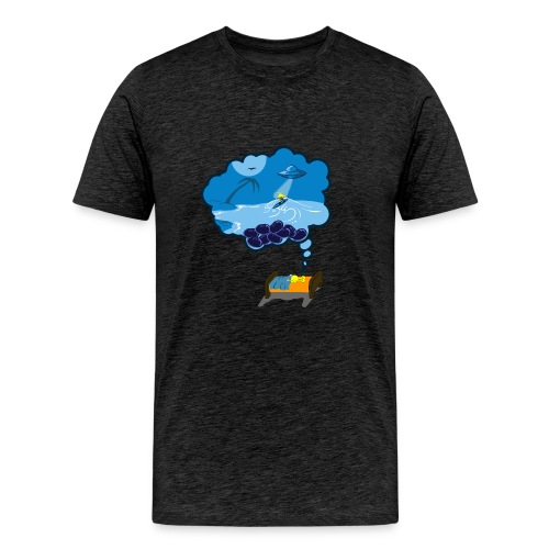 Strainge - Blue Dream Marijuana Strain shirt - Men's Premium T-Shirt