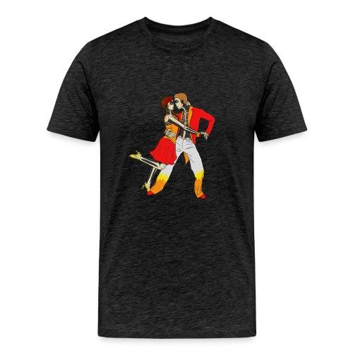 Calaveras Dancing - Men's Premium T-Shirt