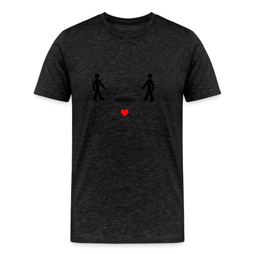 I wish I was blind - Men's Premium T-Shirt