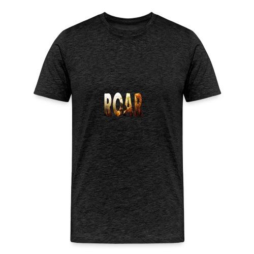 Roar Text - Men's Premium T-Shirt
