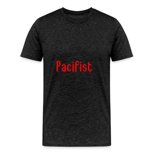 Pacifist T-Shirt Design - Men's Premium T-Shirt
