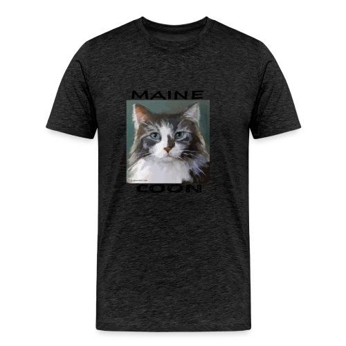 Maine Coon Cat - Men's Premium T-Shirt