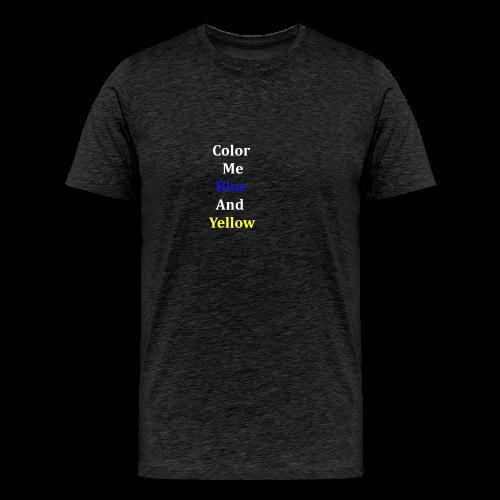 yellowandblue - Men's Premium T-Shirt