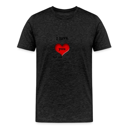 Valentin Love - Men's Premium T-Shirt