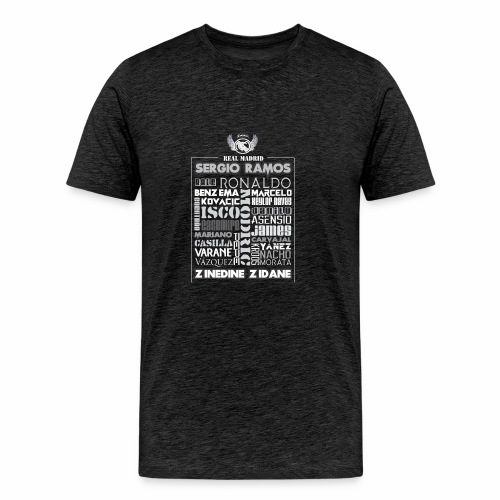 Real Madrid Design - Men's Premium T-Shirt