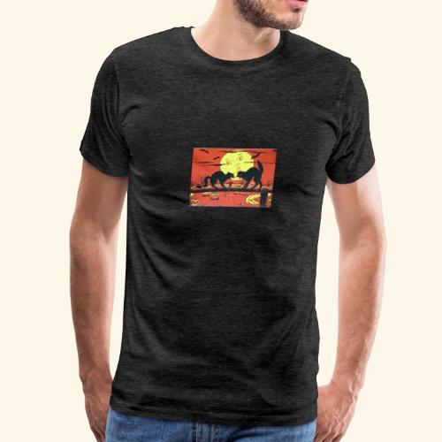 Sunsets in erie - Men's Premium T-Shirt