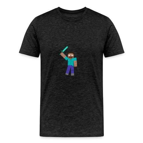 Herobrine Anniversary - Men's Premium T-Shirt