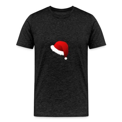 Carmaa Santa Hat Christmas Apparel - Men's Premium T-Shirt