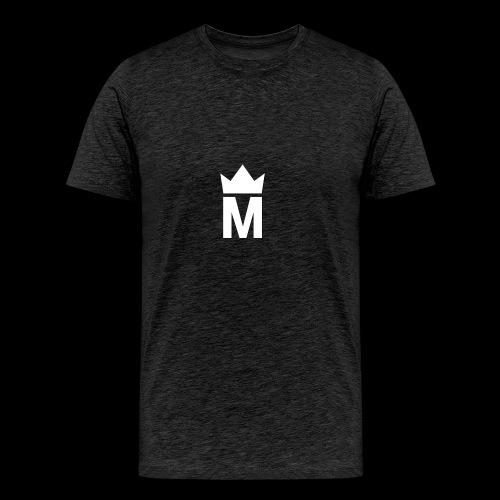 White Majesty Logo - Men's Premium T-Shirt