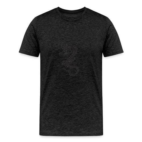dragon PNG986 - Men's Premium T-Shirt