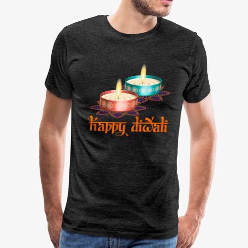 Ganesha Diwali Happiness - Men's Premium T-Shirt