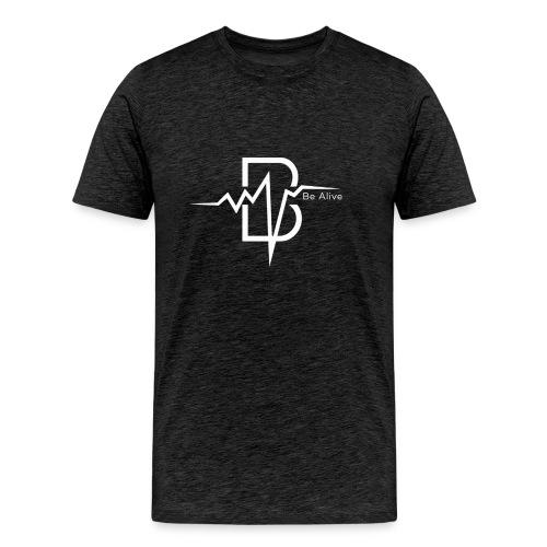Be Alive WHITE - Men's Premium T-Shirt