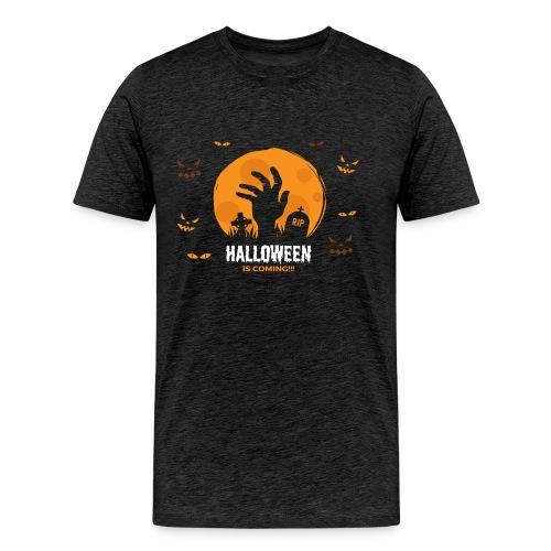 Halloween is coming - Men's Premium T-Shirt