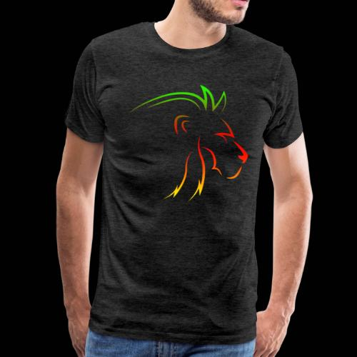 Rainbow lion - Men's Premium T-Shirt