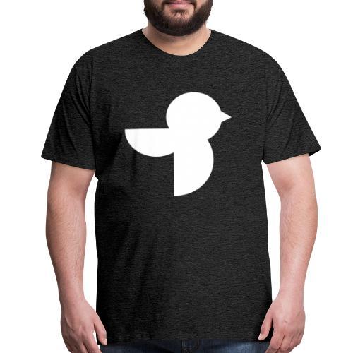 The White Sailea Logo - Men's Premium T-Shirt
