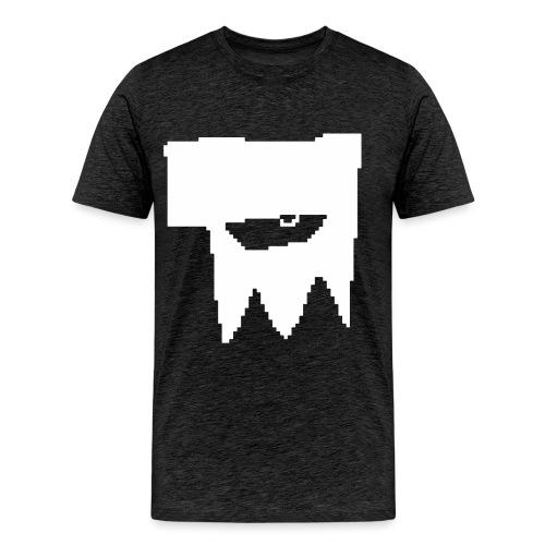KOOLSKULL CLASSIC 2008 MS PAINT LOGO - Men's Premium T-Shirt
