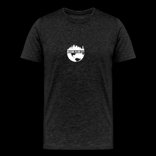 WTOC Logo White - Men's Premium T-Shirt
