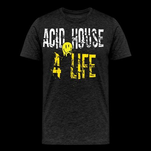 Acid House 4 Life - Men's Premium T-Shirt