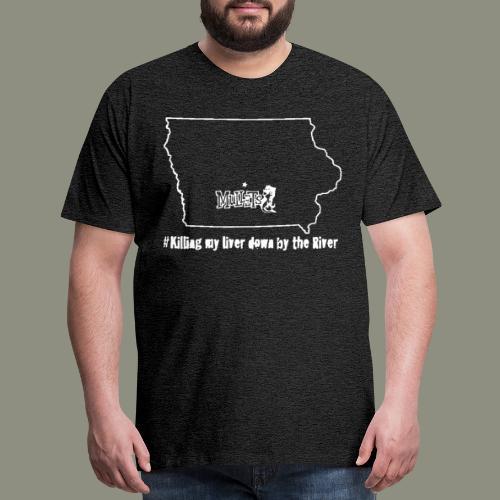 river white - Men's Premium T-Shirt