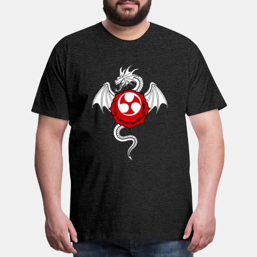 Dragon (W) - Larose Karate - Design Contest 2017 - Men's Premium T-Shirt