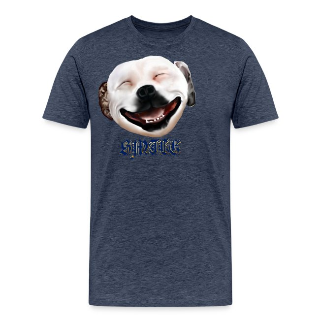 Pit Bull Smile-Brightest