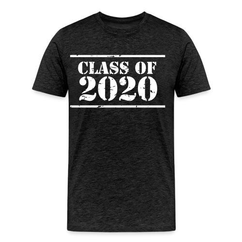 Class of 2020 stencil - Men's Premium T-Shirt