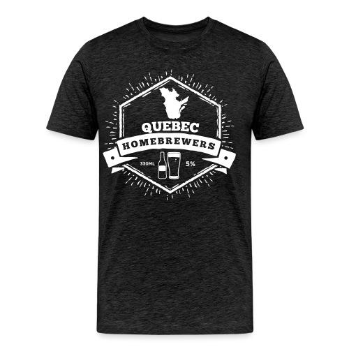 Quebec Homebrewers - Men's Premium T-Shirt