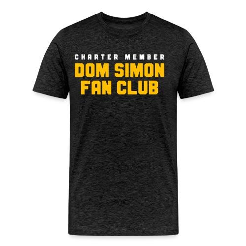 Dom Simon Fan Club - Men's Premium T-Shirt