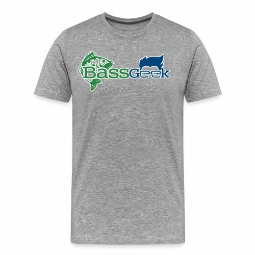 BassGeek Logo - Men's Premium T-Shirt