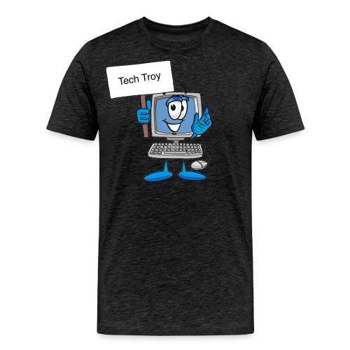 Tech Troy - Men's Premium T-Shirt
