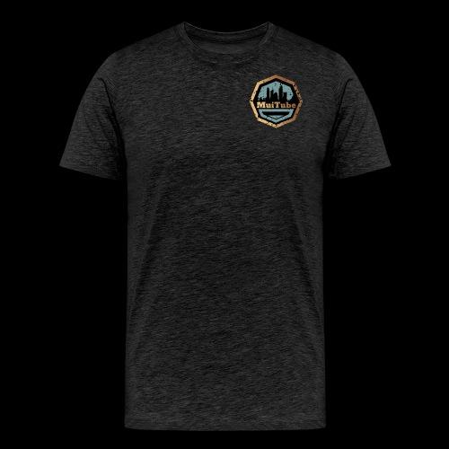 MuiTube Logo 2.0 - Men's Premium T-Shirt